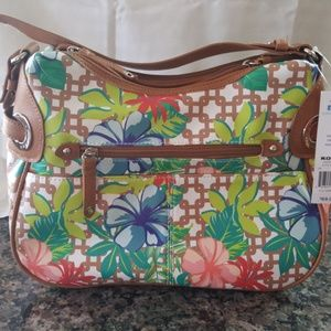 Rosetti flowered purse new with tags